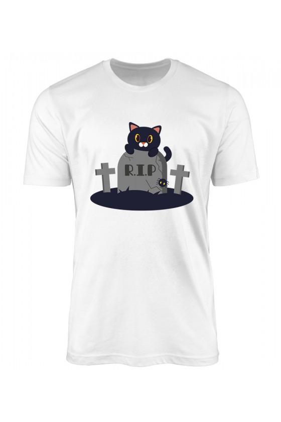 Koszulka Męska Koci Grabarz