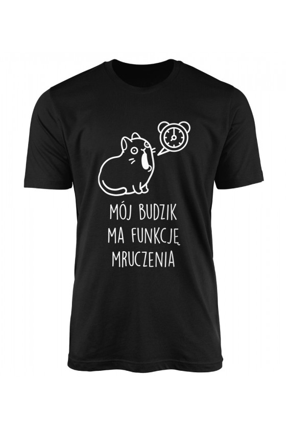 Koszulka Męska Mój Budzik Ma Funkcję Mruczenia