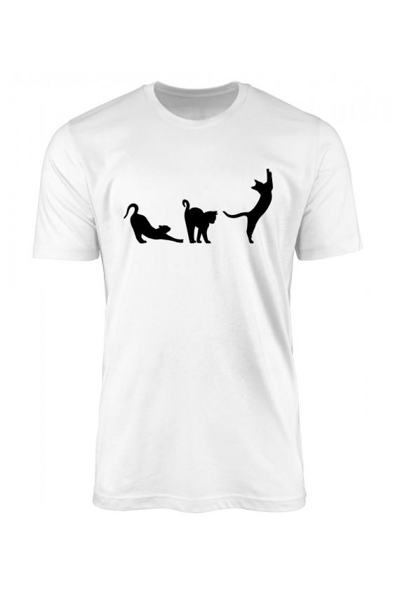 Koszulka Męska Poranna Gimnastyk