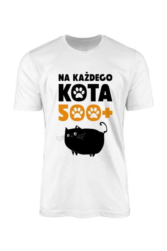 Koszulka Męska Na Każdego Kota 500+