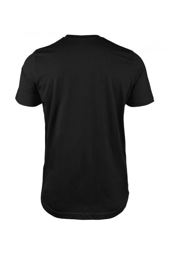 Koszulka Męska Każdy Facet Może Być Ojcem Ale Tylko Ktoś Specjalny Może Być Kocim Tatą