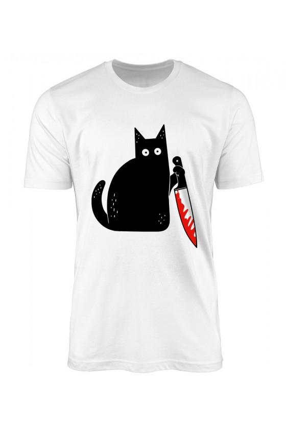Koszulka Męska Zbójecki Kotek