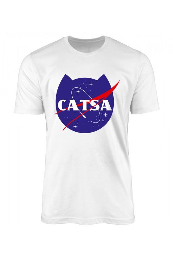 Koszulka Męska Catsa Kosmiczny Kot