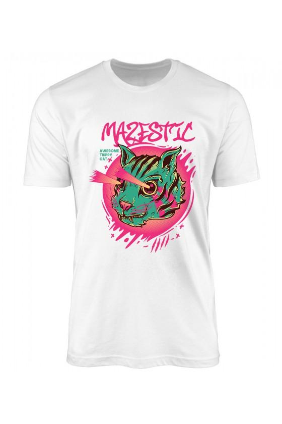 Koszulka Męska Trippy Cat