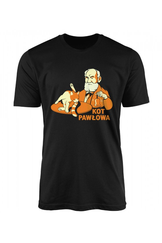 Koszulka Męska Kot Pawłowa