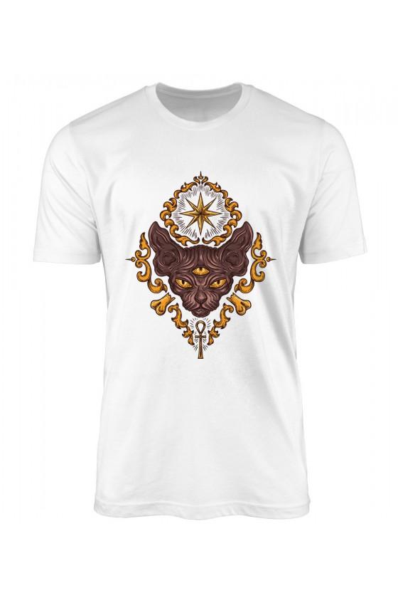 Koszulka Męska Illuminati Anubis
