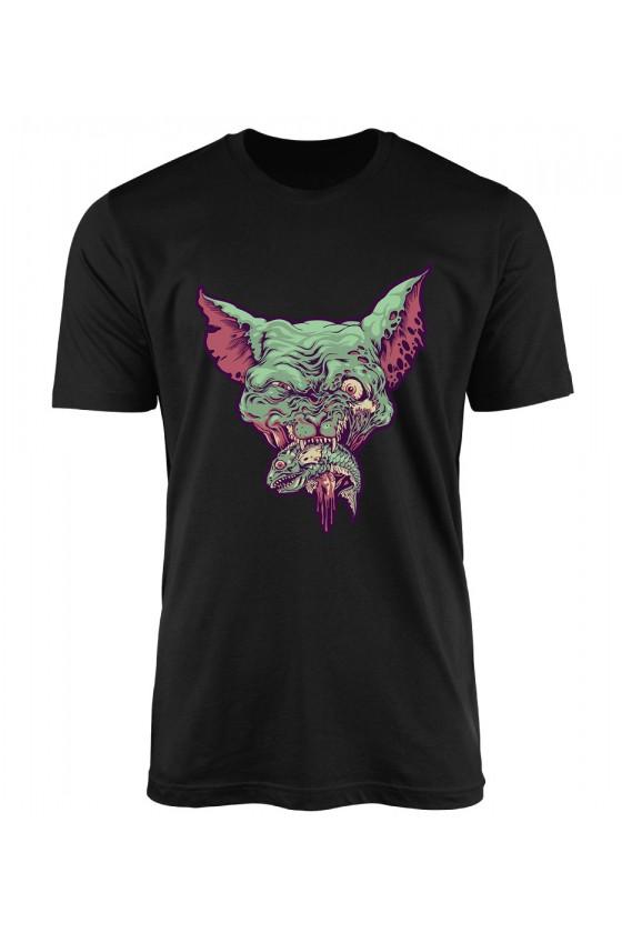 Koszulka Męska Deadly Cat