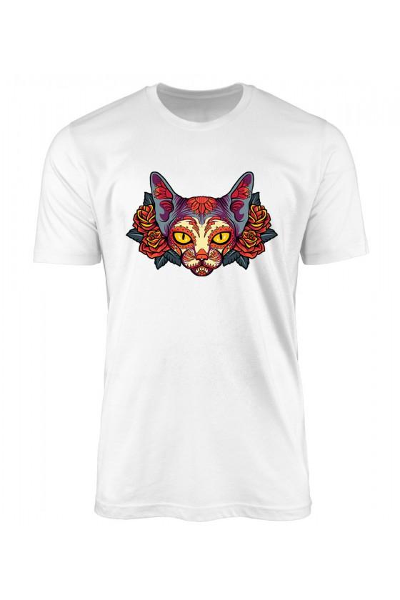 Koszulka Męska La Muerte Cat
