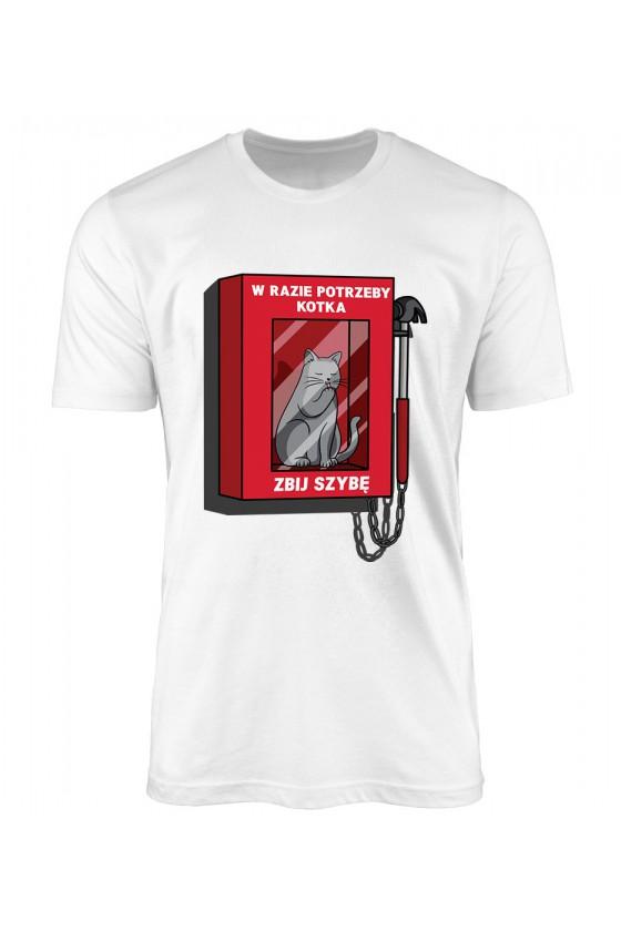 Koszulka Męska W Razie Potrzeby Zbij Szybkę