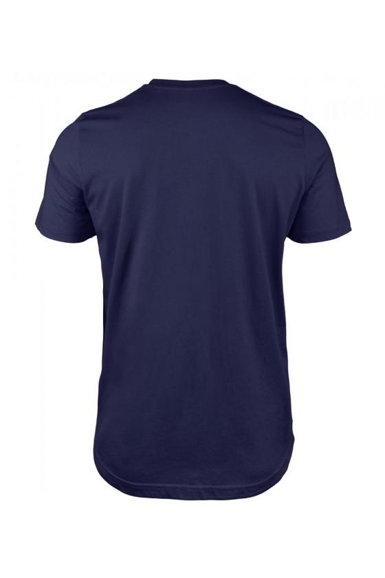 Koszulka Męska Uwaga Mogę Spontanicznie Zacząć Gadać O Kotach