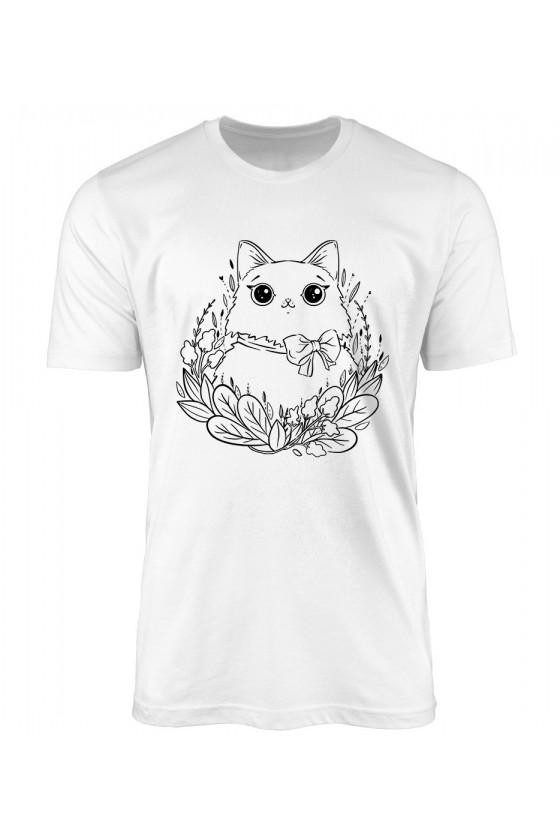 Koszulka Męska Leżakowanie W Trawie