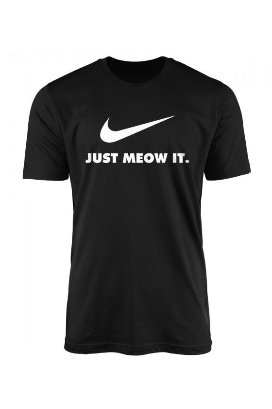 Koszulka Męska Just Meow It