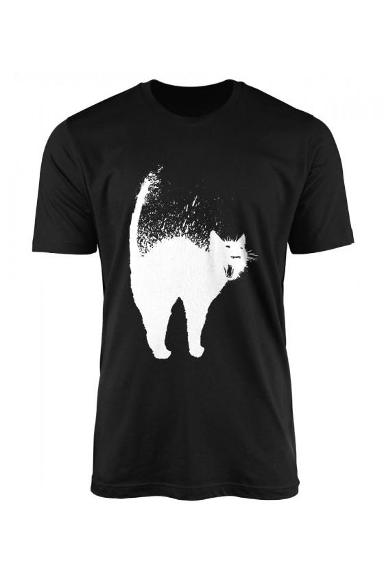Koszulka Męska Najeżowy Kot