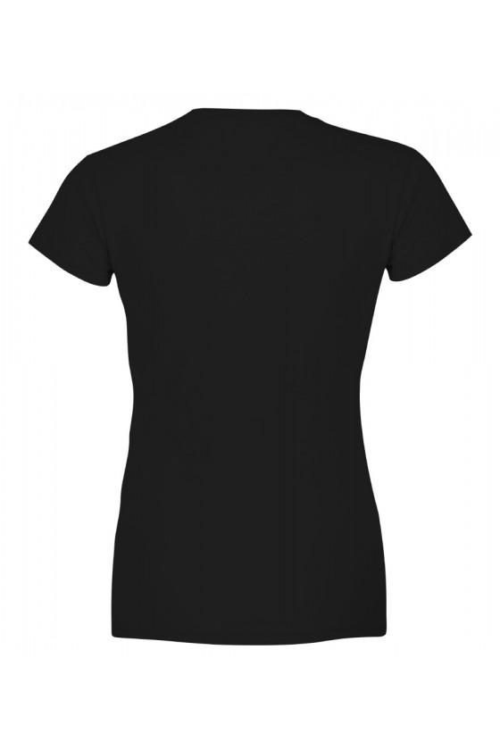 Koszulka Damska Dyplomowany Karmiciel Kota