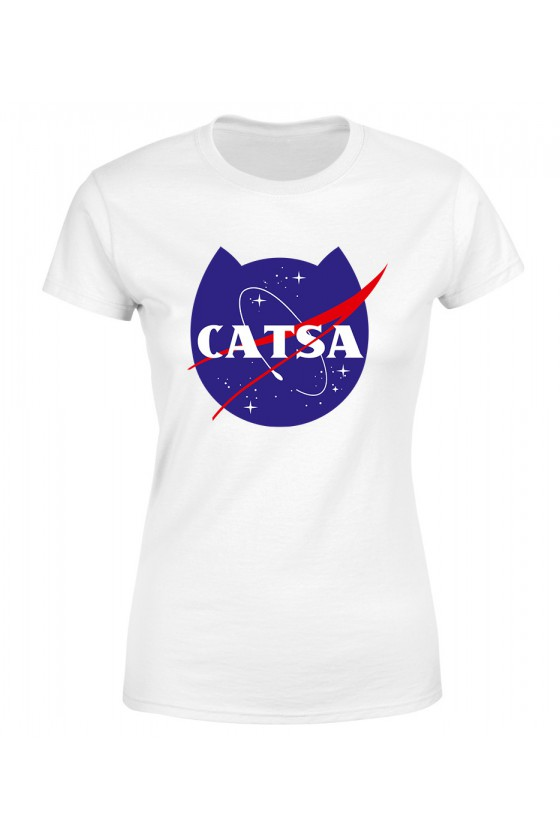 Koszulka Damska Catsa Kosmiczny Kot