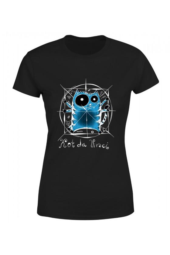 Koszulka Damska Kot Da Vinci