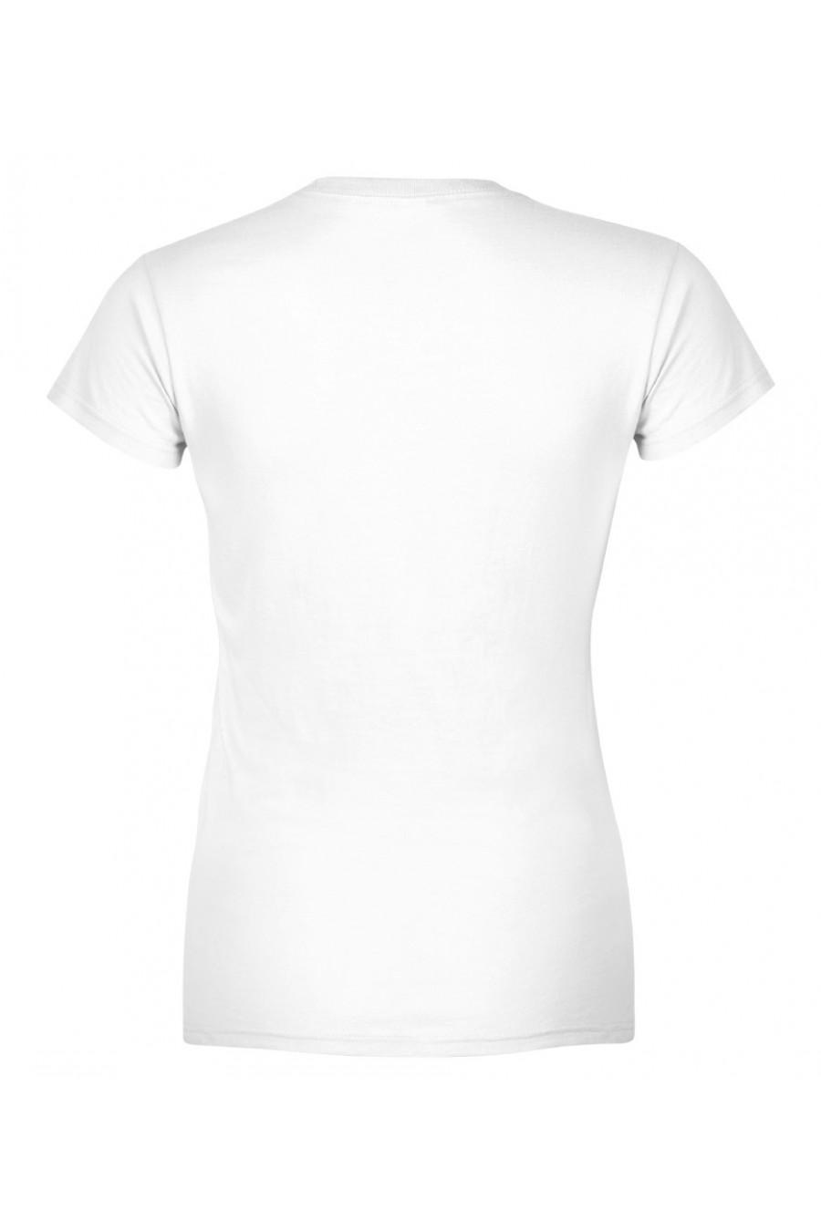 Koszulka Damska Płonąca Choinka