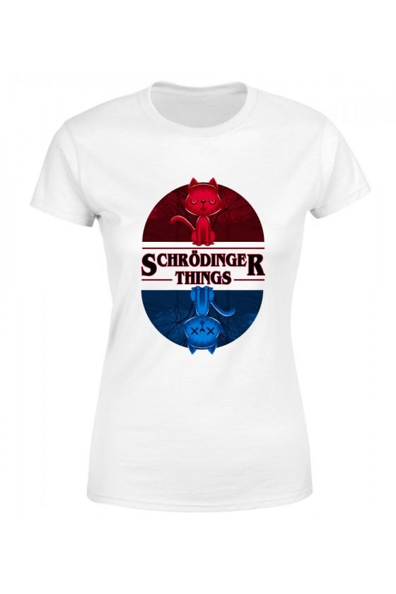 Koszulka Damska Schrodinger Things
