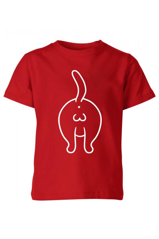 Koszulka Dziecięca Koci Tyłek
