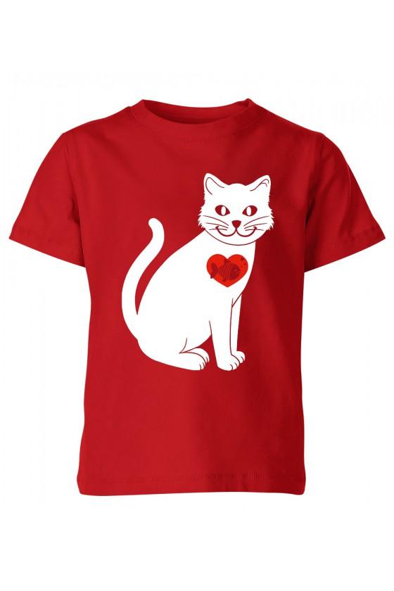 Koszulka Dziecięca W Sercu Rybka