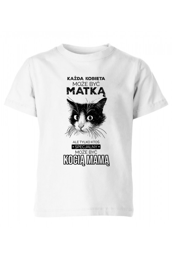 Koszulka Dziecięca Kocia Mama