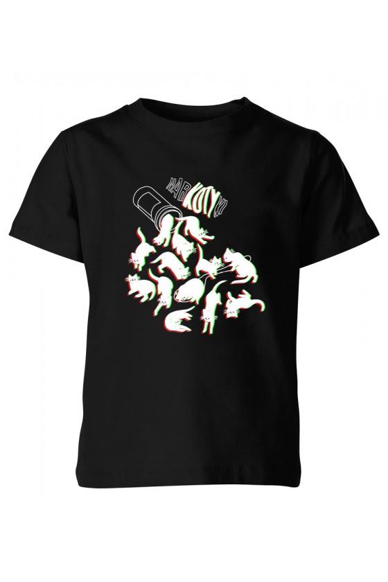 Koszulka Dziecięca Narko Kotki