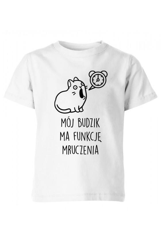 Koszulka Dziecięca Mój Budzik Ma Funkcję Mruczenia