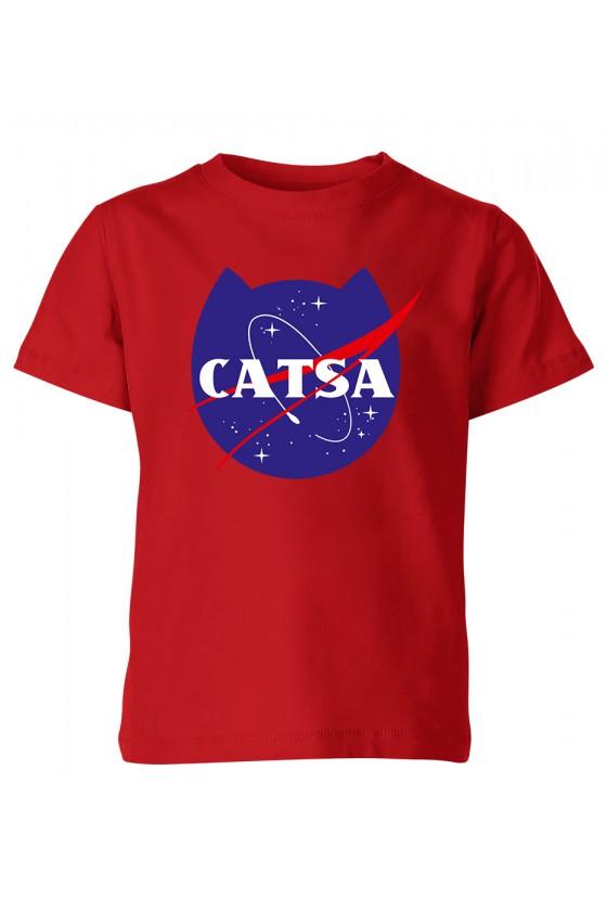 Koszulka Dziecięca Catsa Kosmiczny Kot
