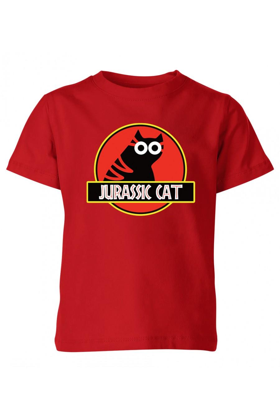 Koszulka Dziecięca Jurassic Cat