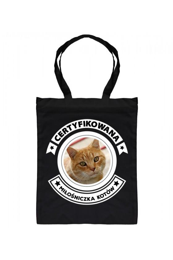 Eko Torba Certyfikowana Miłośniczka Kotów
