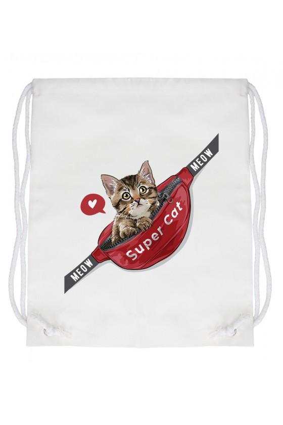 Worek Meow Meow Supercat