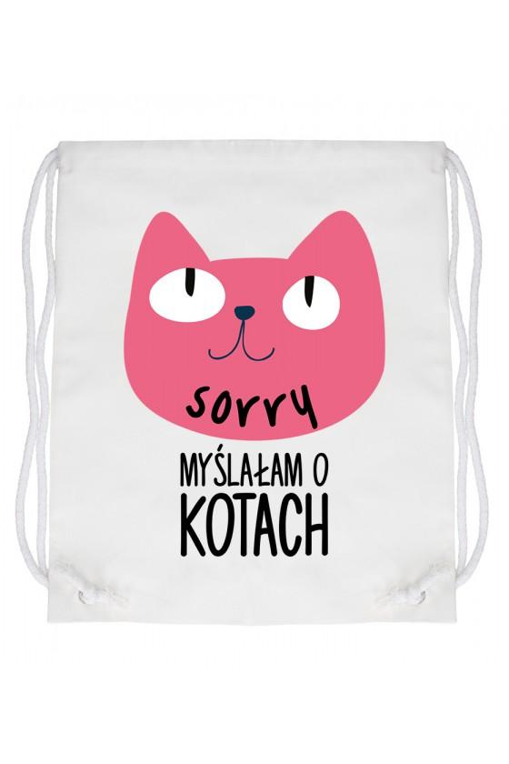 Worek Sorry Myślałam O Kotach 2