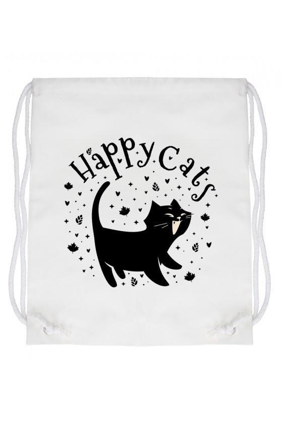 Worek Happy Cats