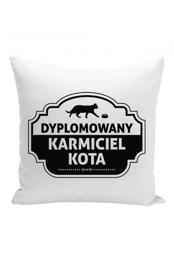 Poduszka Dyplomowany Karmiciel Kota
