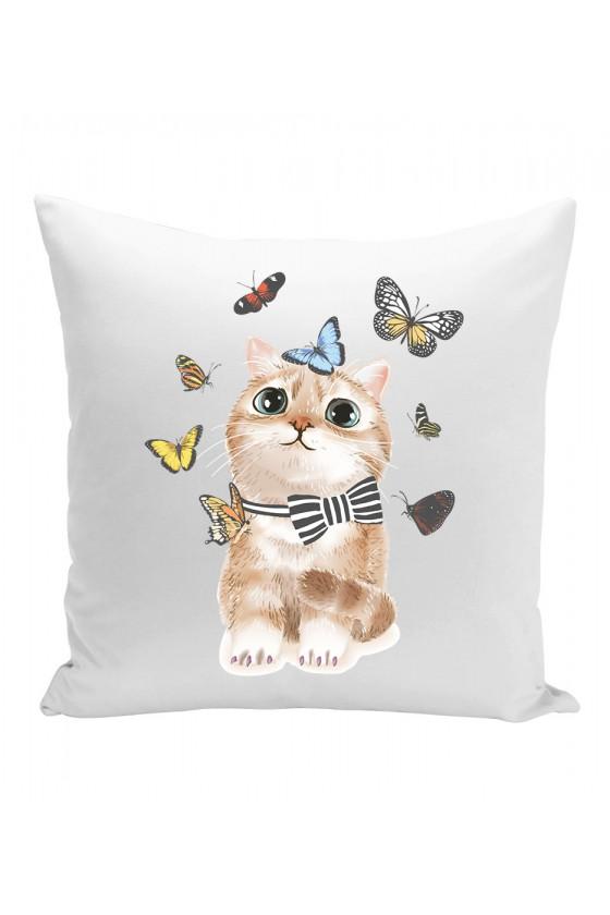 Poduszka Motyle Życie
