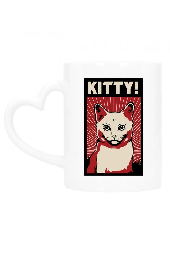 Kubek Z Uchem W Kształcie Serca Kitty!