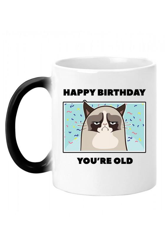 Kubek Magiczny Happy Birthday