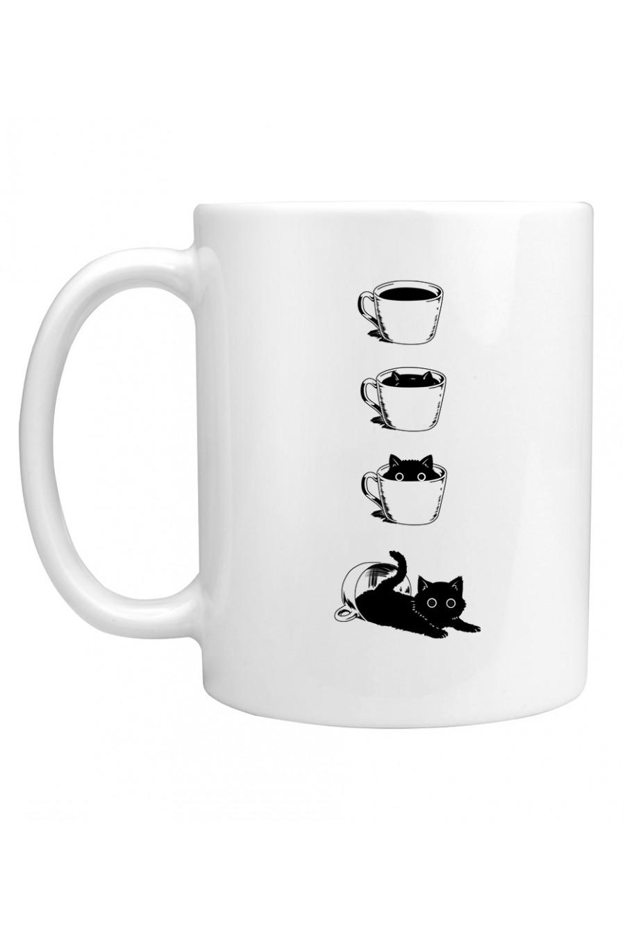 Kubek Kot I Filiżanka