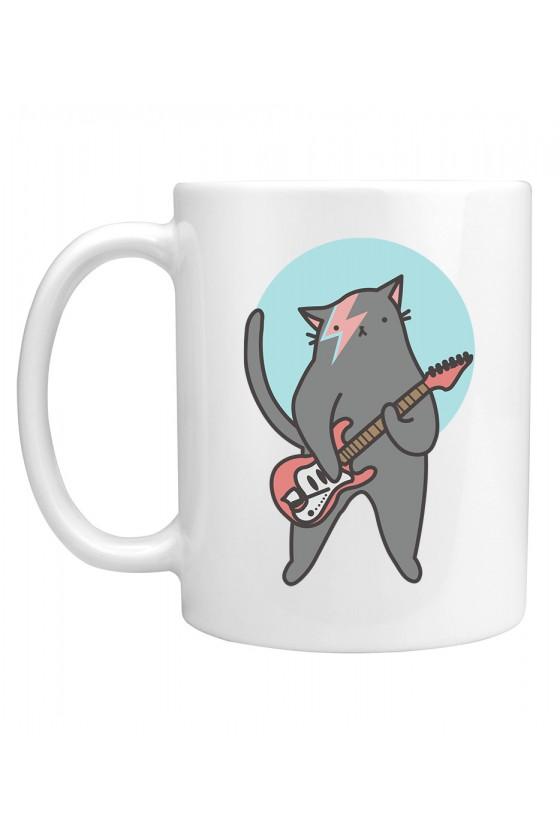 Kubek Kot Z Gitarą Bowie