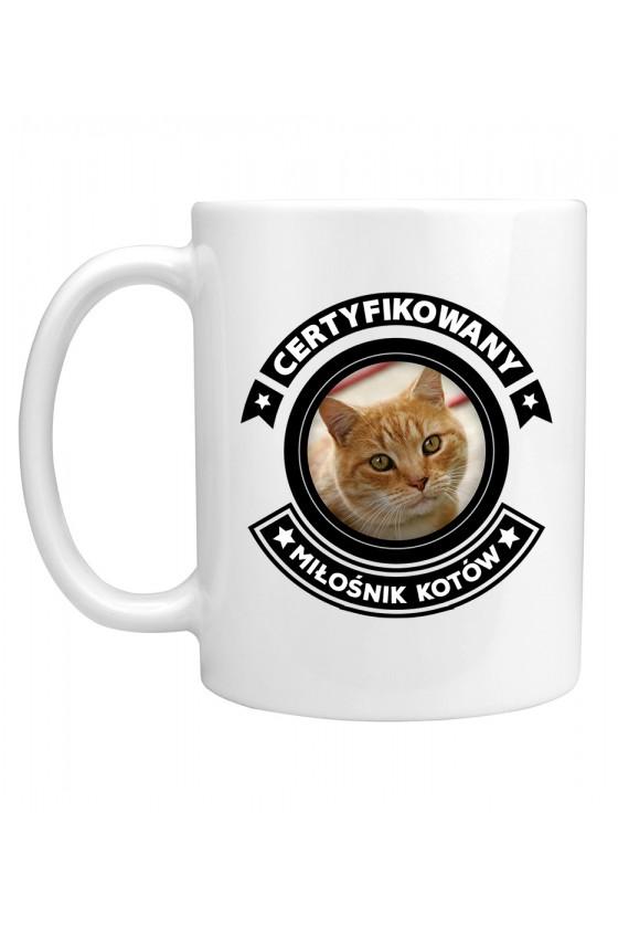 Kubek Certyfikowany Miłośnik Kotów