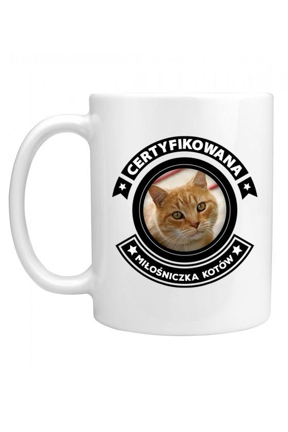 Kubek Certyfikowana Miłośniczka Kotów