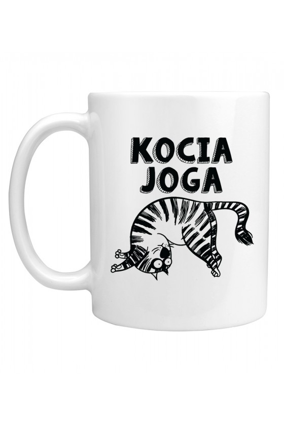Kubek Kocia Joga