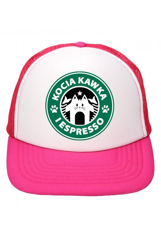 Czapka Z Daszkiem Kocia Kawka I Espresso