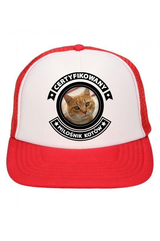Czapka Z Daszkiem Certyfikowany Miłośnik Kotów