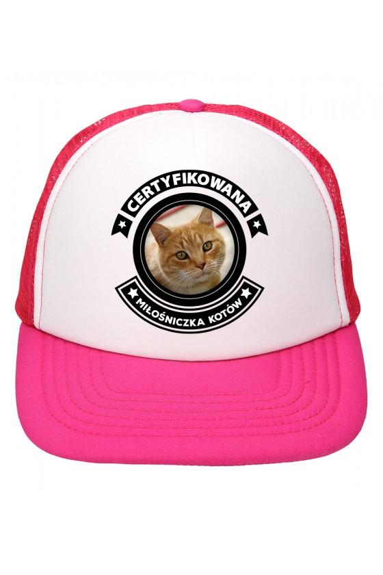 Czapka Z Daszkiem Certyfikowana Miłośniczka Kotów