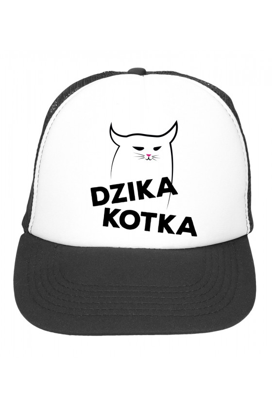Czapka Z Daszkiem Dzika Kotka
