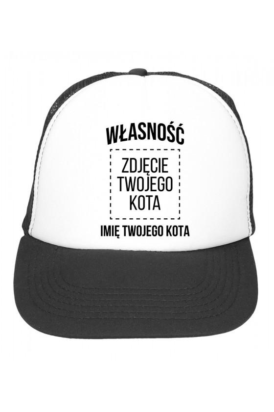 Czapka Z Daszkiem Własność Kota - Imię Kota