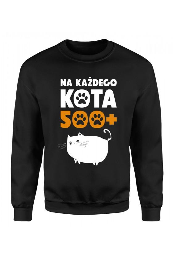 Bluza Klasyczna Męska Na Każdego Kota 500+