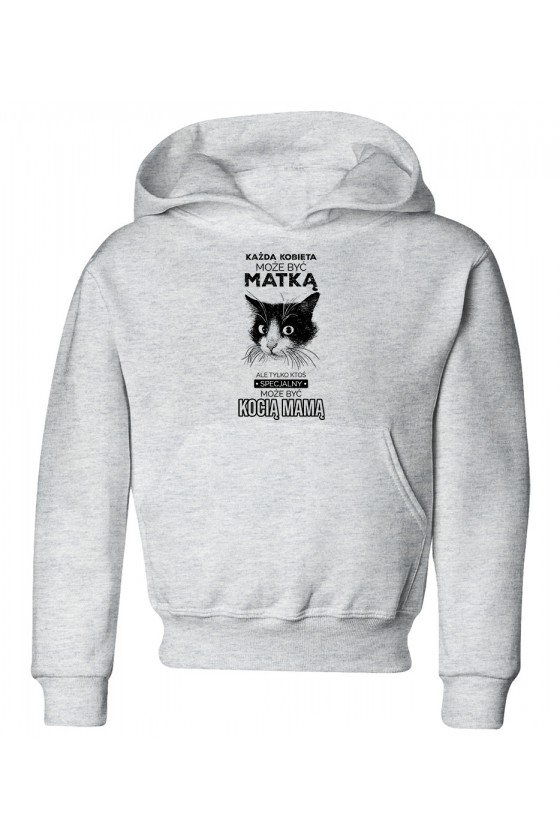 Bluza Dziecięca z Kapturem Kocia Mama
