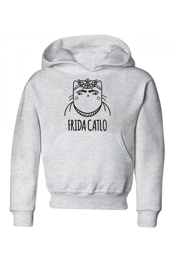 Bluza Dziecięca z Kapturem Frida Catlo
